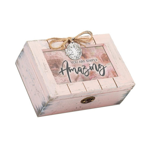 You Are Simply Amazing Locket Music Box Wendell August