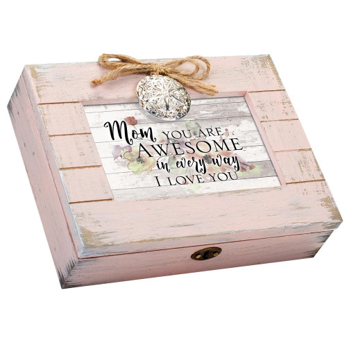 Mom You Are Awesome Love You Musical Keepsake Box Wendell August
