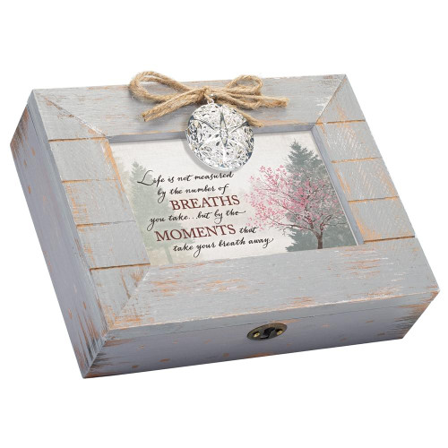 Life Measured by Moments Musical Keepsake Box Wendell August