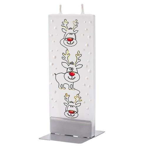 Flat Handmade Candle - 3 Baby Reindeer Wendell August