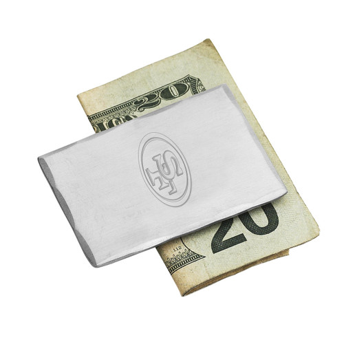 San Francisco 49ers Money Clip Wendell August