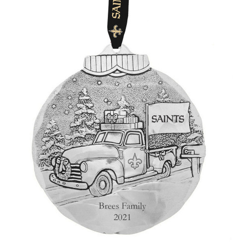 New Orleans Saints Tailgating Ornament Aluminum Wendell August