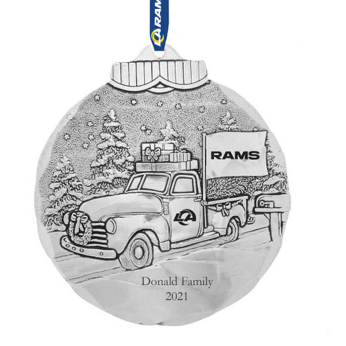 Los Angeles Rams Tailgating Ornament Aluminum Wendell August