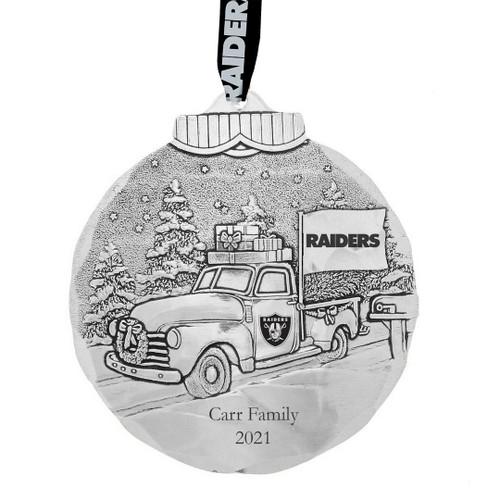 Las Vegas Raiders Tailgating Ornament Aluminum Wendell August