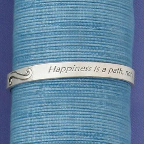 Happiness Path Bangle Medium Wendell August
