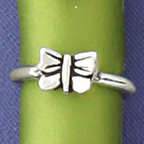 Butterfly Charm Ring Medium Wendell August