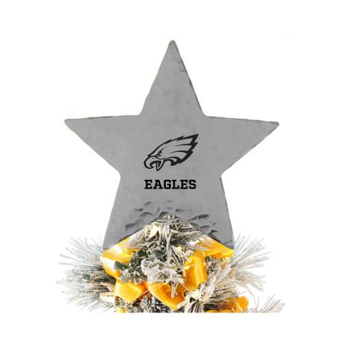 Philadelphia Eagles Star Tree Topper Aluminum Wendell August