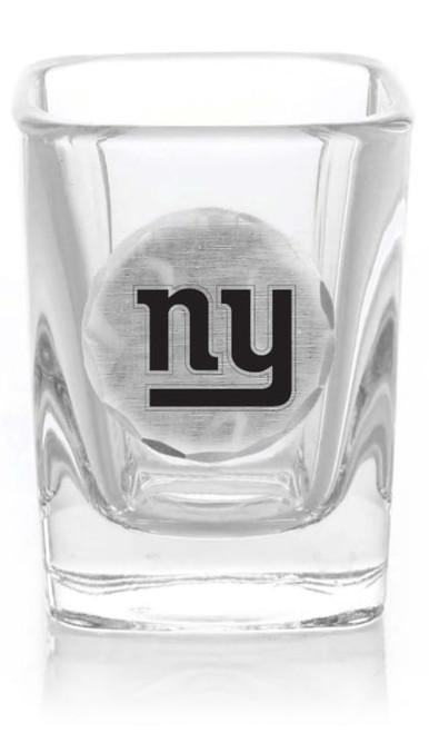 New York Giants Shot Glass (Aluminum)