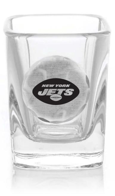 New York Jets Shot Glass (Aluminum)