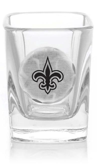 New Orleans Saints Shot Glass (Aluminum)