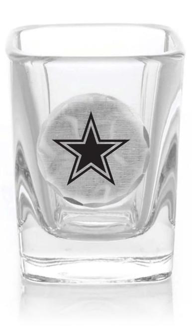 Dallas Cowboys Shot Glass (Aluminum)
