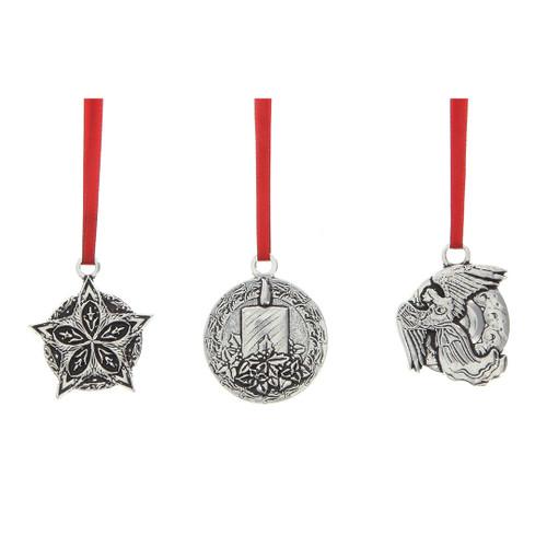 Meaning of Christmas Faith Miniature Ornament Set