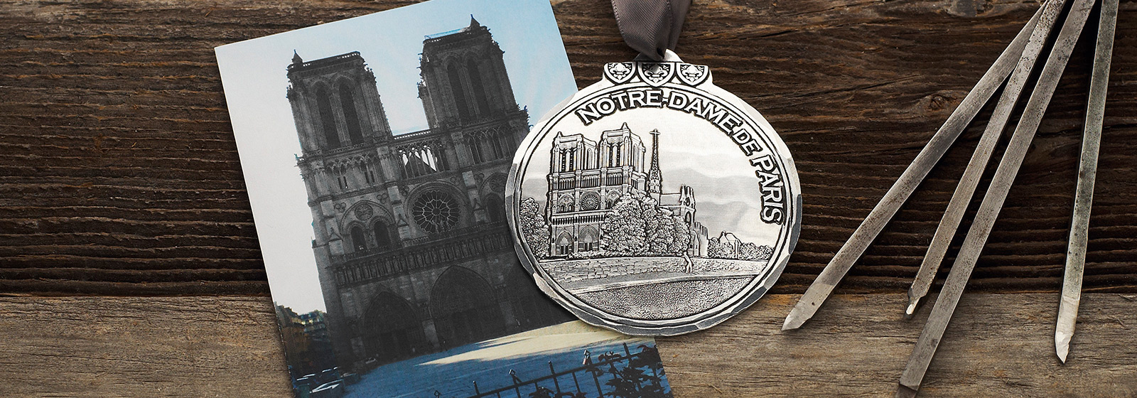Notre Dame Cathedral Ornament