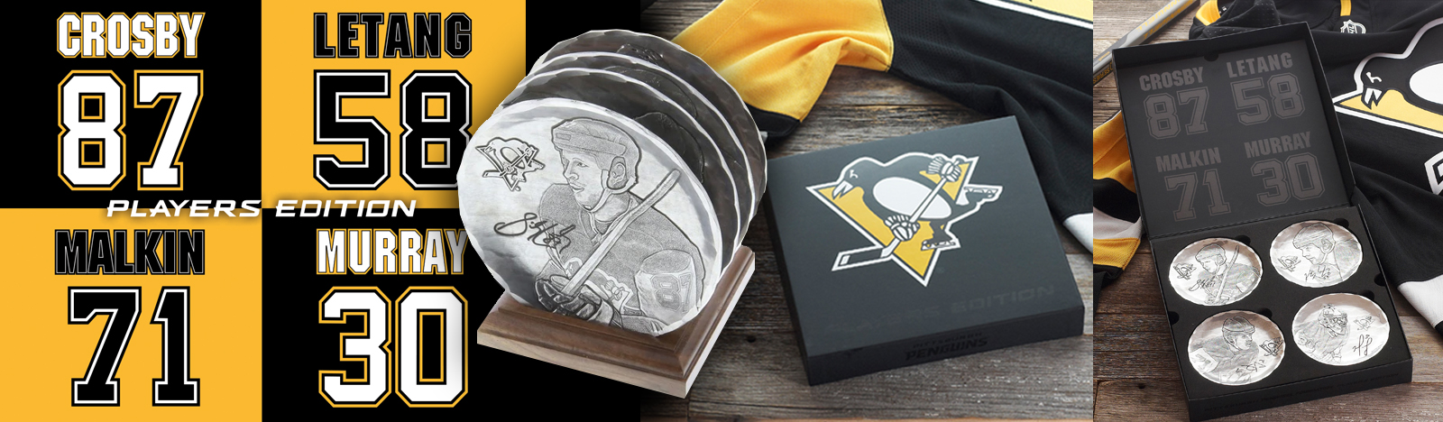 Pittsburgh Penguins Players Edition Set