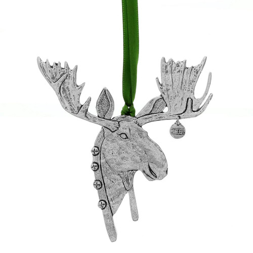 Christmas Moose Keepsake Tree Ornament