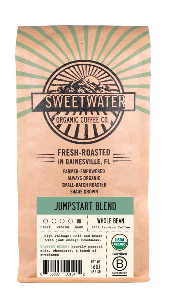 Jumpstart French Roast Fair Trade Organic Coffee