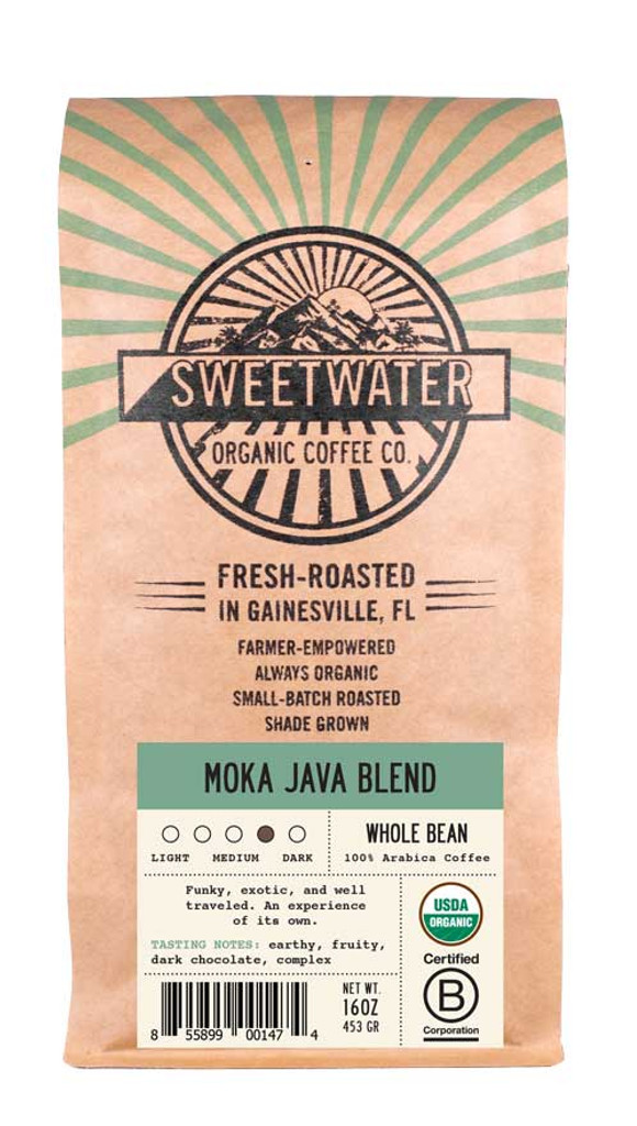 Moka Java Viennese Roast Fair Trade Organic Coffee