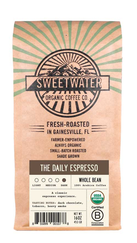The Daily Espresso French Roast Fair Trade Organic Coffee