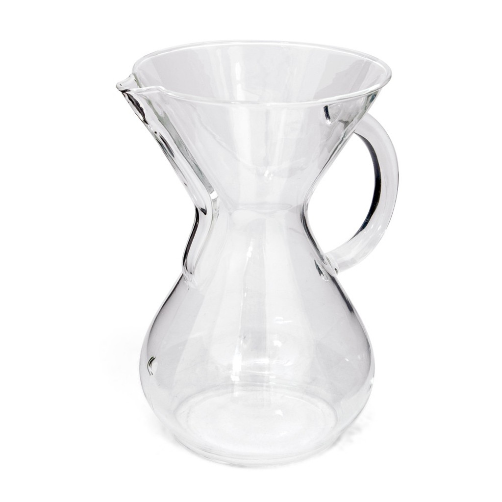 Chemex 6-cup Coffee Maker (Glass Handle)