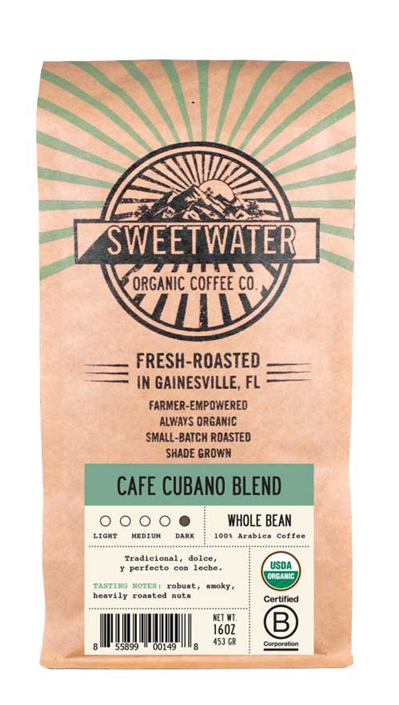 Cafe Cubano French Roast Fair Trade Organic Coffee