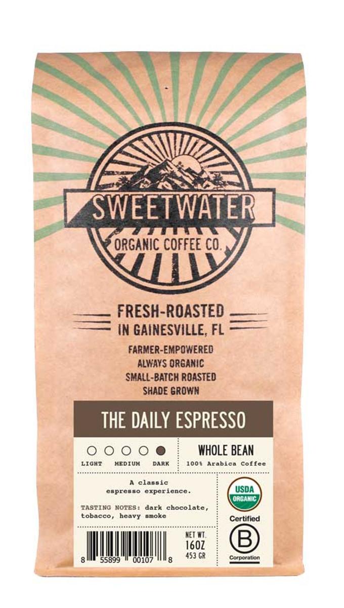 The Daily Espresso French Roast Fair Trade Organic Coffee
