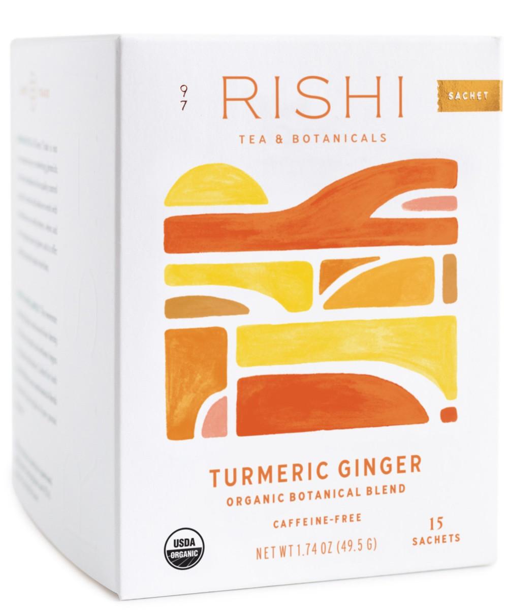 Turmeric Ginger Caffeine-Free Tea Bags