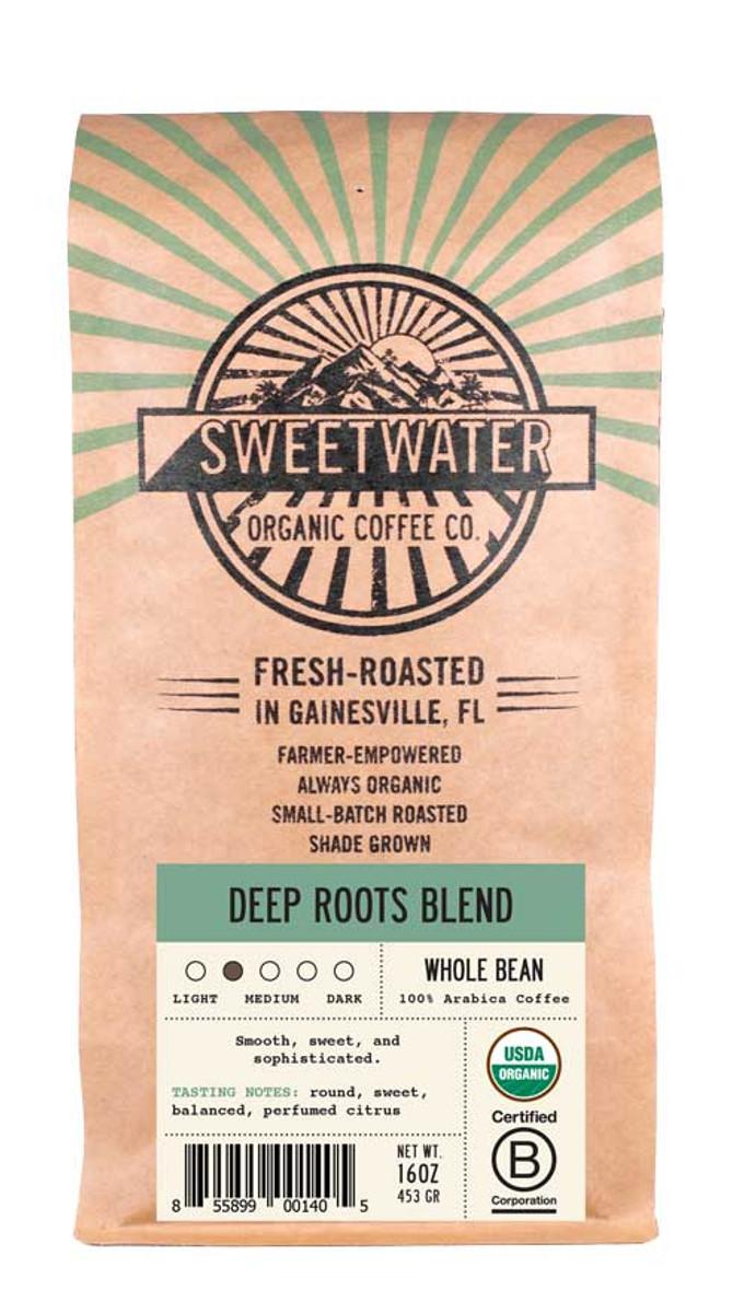Deep Roots Full City Roast Fair Trade Organic Coffee