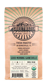 Good Morning Gainesville Full City Roast Fair Trade Organic Coffee