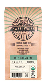 Deep Roots Full City Roast Fair Trade Organic Coffee