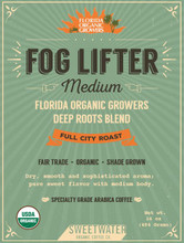 FOG Lifter Medium- Florida Organic Growers Full City Roast