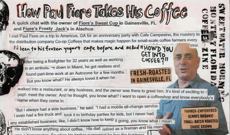 ​HOW PAUL FIORE TAKES HIS COFFEE