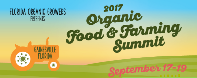 Serving up Hot Coffee at Sept.'s Florida Organic Food Summit