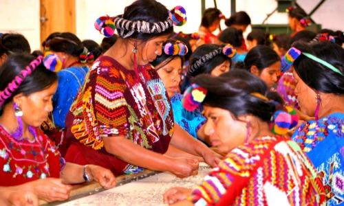 chajulel quiche guatemala 2013 women sorting coffee