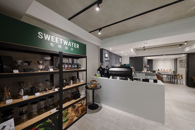 Sweetwater Coffeehouse in Taiwan view of the entrance