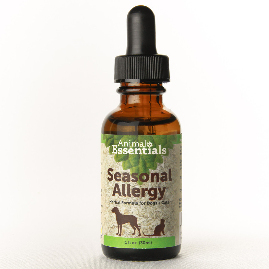 Animal Essentials Season Allergy formula for dogs and cats.