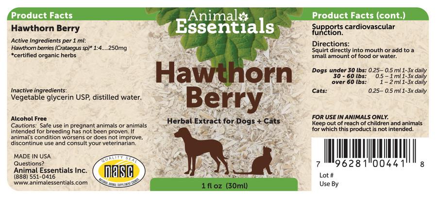 Hawthorn Berry 1oz