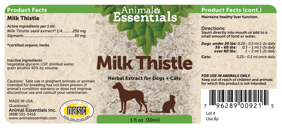 Milk Thistle 1oz
