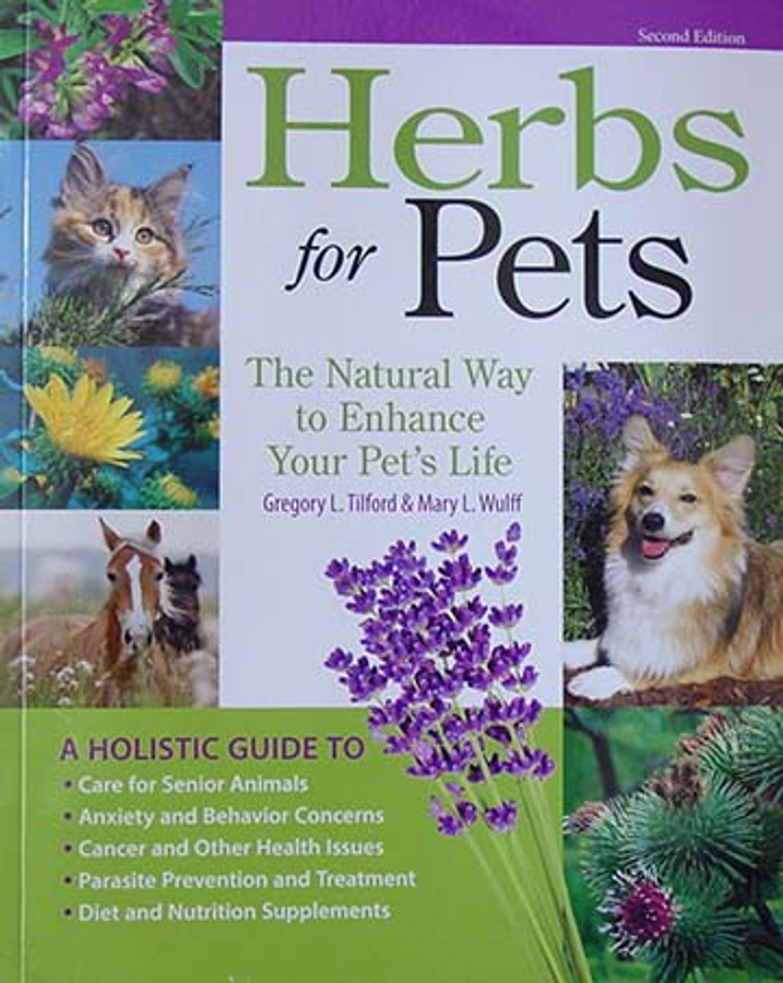 Herbs for Pets, the natural way to enhance your pet's life