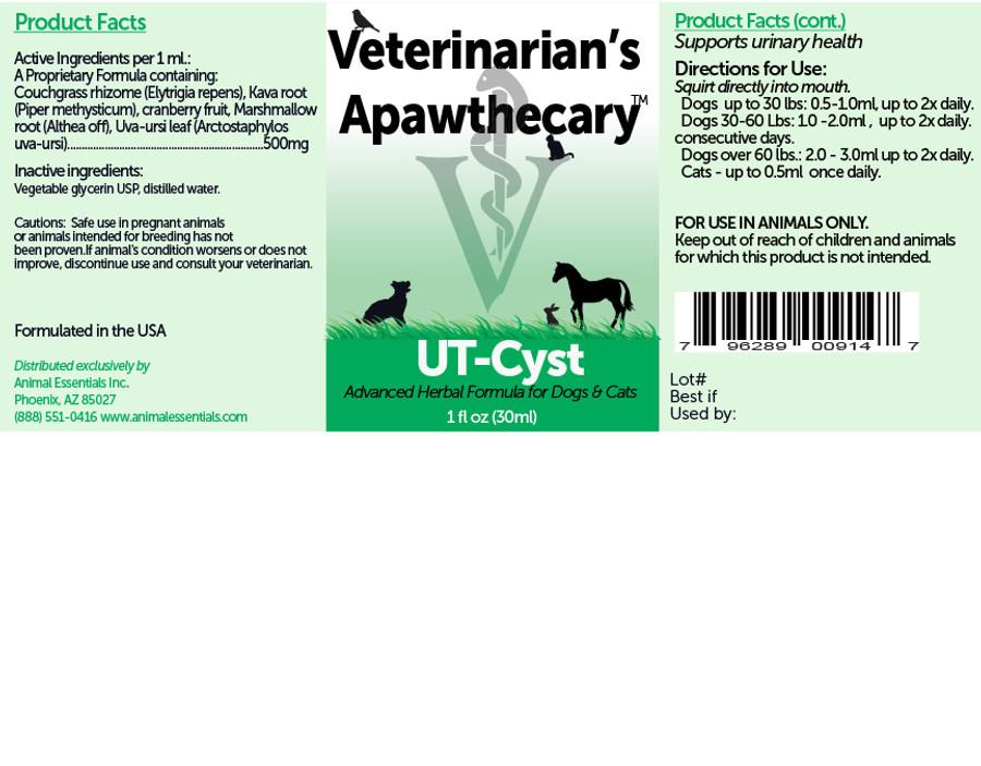 UT-Cyst  by Veterinarian's Apawthecary