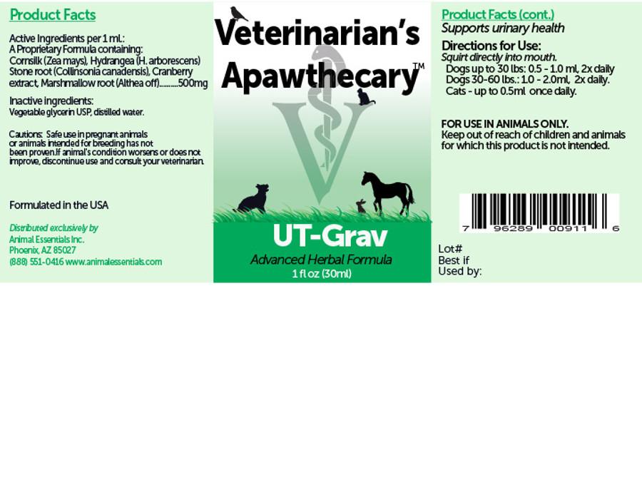 UT-Grav by Veterinarian's Apawthecary