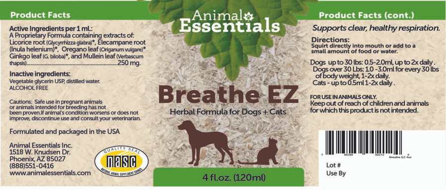Breathe EZ for occasional asthma in cats & dogs