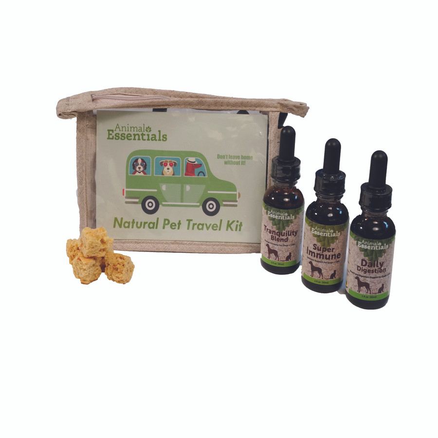 Natural Pet Travel Kit