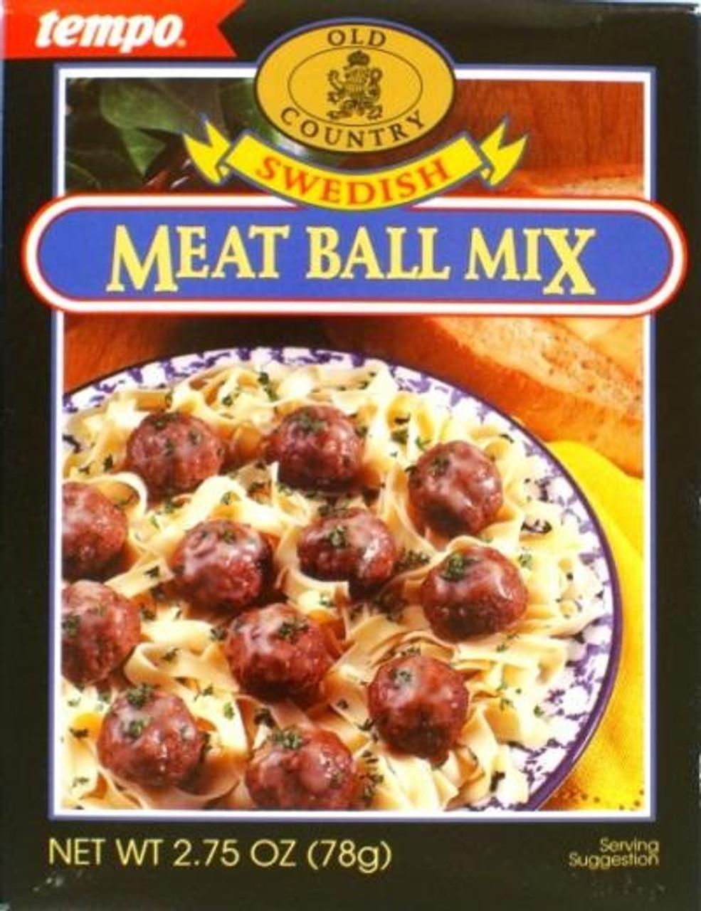 tempo swedish meatball mix 78g - marina market