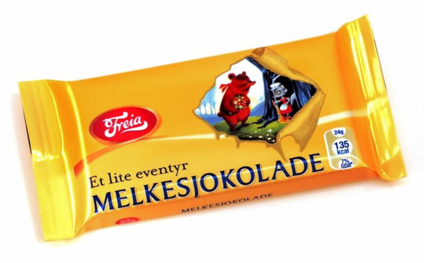 FREIA MELKESJOKOLADE MINI MILK CHOCOLATE 24g