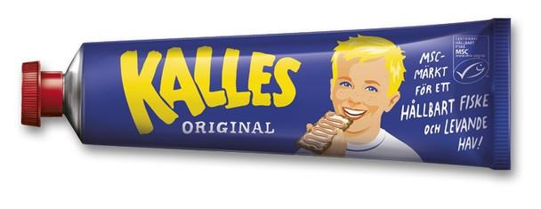 KALLES CREAMED ROE 190g