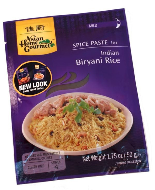 ASIAN HOME GOURMET INDIAN BIRYANI RICE MIX
