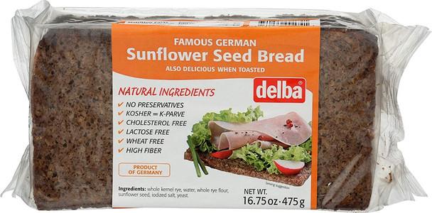 DELBA FELDKAMP SUNFLOWER SEED BREAD 475g