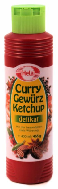 HELA MILD CURRY KETCHUP 400ml