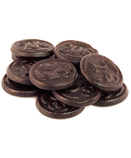 K & H SALT LICORICE COINS 1kg