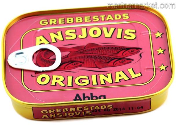 ABBA ANCHOVY GREBBESTADS 125g